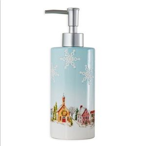 Hometown Holiday Lotion Dispenser